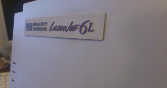 Лазерен принтер втора употреба – HP LaserJet 6L